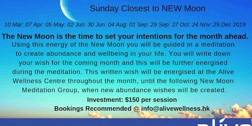New Moon & Abundance Meditation By Helen Mahtani
