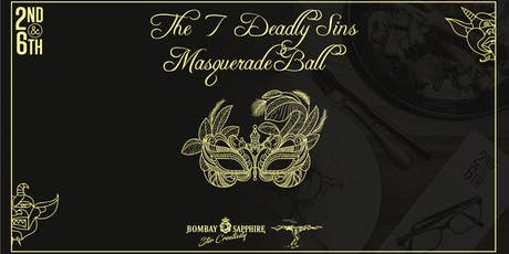 7 Deadly Sins, Masquerade Ball tickets