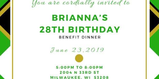 Brianna's 28th Birthday Benefit Dinner