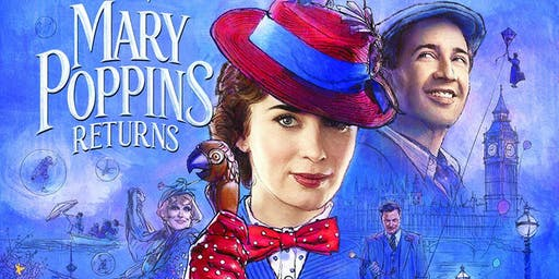 School Holiday Program: Movie Screening - Mary Poppins Returns -Tea Gardens