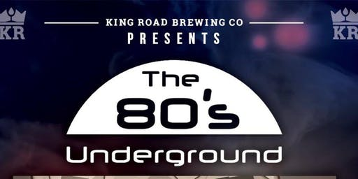 80's Underground Performing Live @ KRB Saturday 29th June 2019 18+ Event