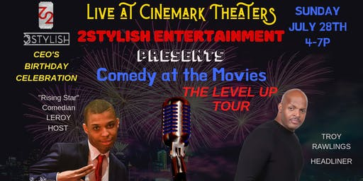 LEVEL UP (Live) Comedy Tour at Cinemark FAIRFAX VA