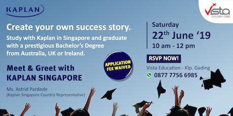 Study in Singapore with International University Degree - Jakarta Utara MOI tickets