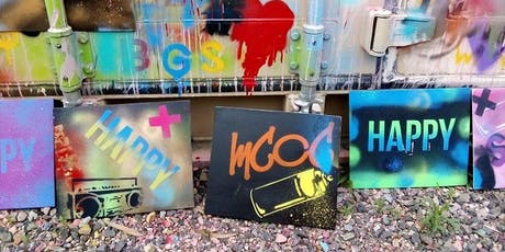 Kids Street Art Workshop - Stencil tickets