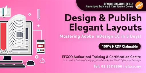 AUTHORISED TRAINING: Mastering Adobe InDesign CC in 5 Days!