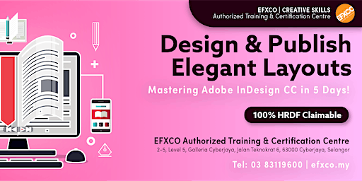 AUTHORISED TRAINING: Mastering Adobe InDesign CC in 5 Days!