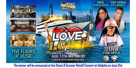 I Love Freestyle Music Tour NYC Yacht Party Contest tickets