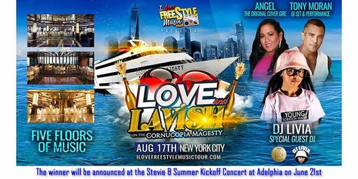 I Love Freestyle Music Tour NYC Yacht Party Contest