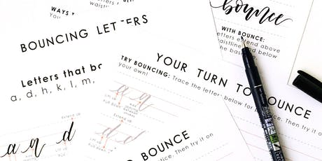 Beginners Brush Lettering Workshop Part 2 - Long Beach tickets
