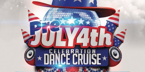Red White and Blue Pre Fourth of July Celebration Dance Cruise NYC 2019
