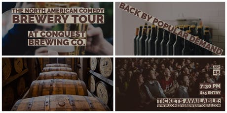 The North American Comedy Brewery Tour At Conquest Brewing Co. tickets