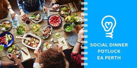 Effective Altruism Perth: Potluck Social Dinner tickets