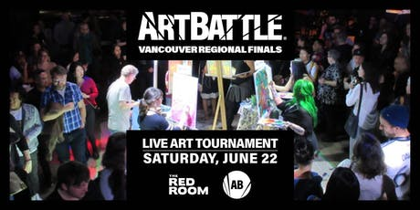 Art Battle Vancouver Regional Finals! - June 22, 2019 tickets