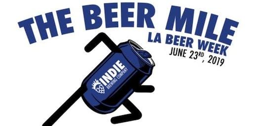 The Indie Brewing / LA Craft Runners Beer Mile