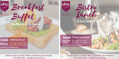 AHTS 2019 End of Semester Function tickets