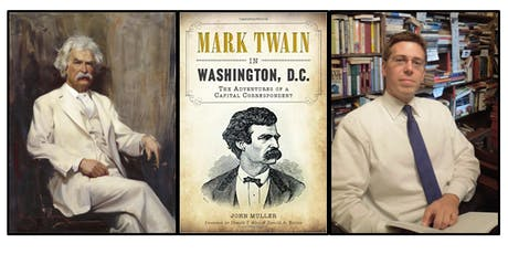Mark Twain in Washington, DC Walking Tour with Author/Historian John Muller tickets