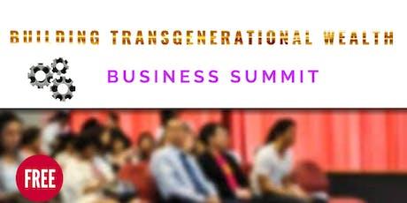 Building Transgenerational Wealth Summit tickets