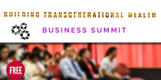 Building Transgenerational Wealth Summit