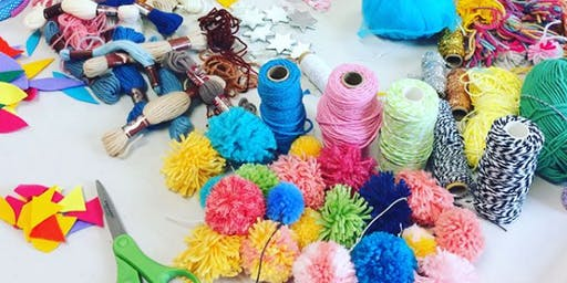 Yarn Painting with Zoe Boyd