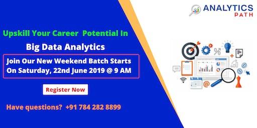 Analytics Path New Weekend Batch On Big Data Analytics on 22nd June @ 9am