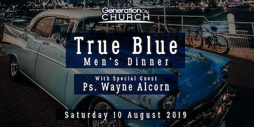 True Blue Mens Dinner
