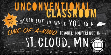 Teacher Workshop - Saint Cloud, MN - Unconventional Classroom tickets