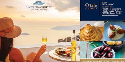 Oceania Cruises Morning Tea