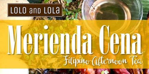 MERIENDA CENA: Filipino Afternoon Tea
