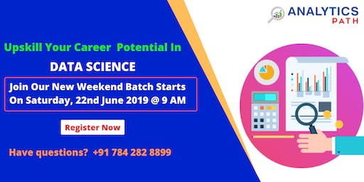 Analytics Path & Become Expert Data Scientist From Saturday,22nd June