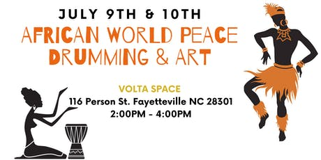 African World Peace Drumming & Art: Volta Space tickets