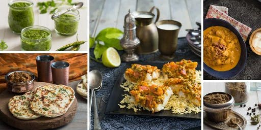Thermomix Flavours of India - Demonstration-style cooking class
