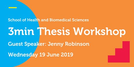 SHBS 3min Thesis Workshop  tickets