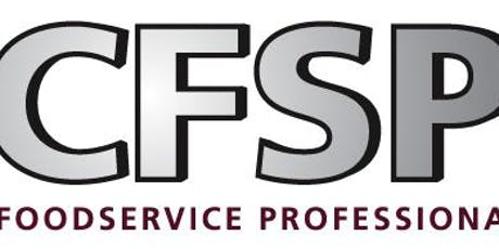 Melbourne course 2020: Certified Food Service Professional (CFSP) - Updated professional qualification dedicated to the foodservice industry tickets