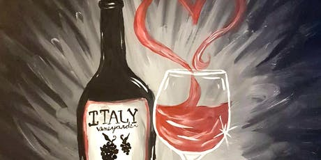 Paint WINE LOVE at Oceanside Public House tickets