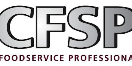 Sydney course 2020: Certified Food Service Professional (CFSP) - Updated professional qualification dedicated to the foodservice industry tickets