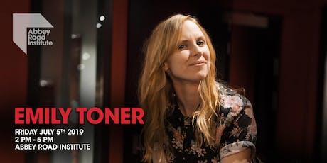 Emily Toner Masterclass - The Psychology Of Performance tickets