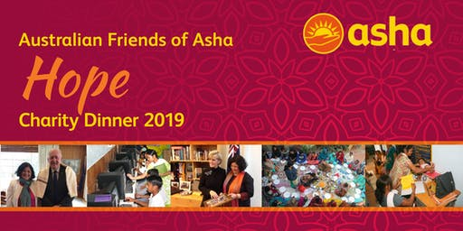 Australian Friends of Asha - Hope Charity Dinner