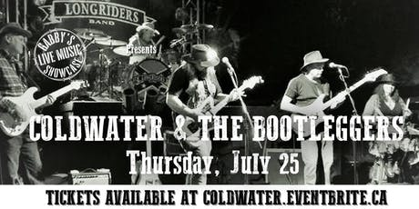 Coldwater & The Bootleggers - Gabby's Live Music Showcase tickets