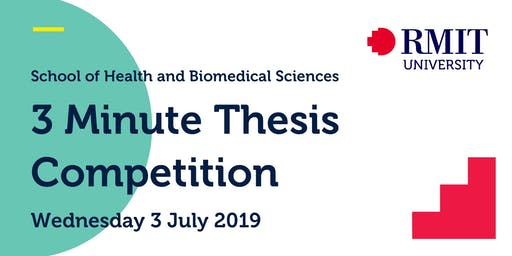 SHBS 3 Minute Thesis Competition