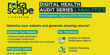 Digital Health Audit: Analytics  tickets