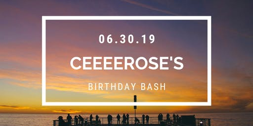 Ceeeerose 24th Bday Boat Party