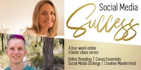 Social Media Success: Branding + Canva Essentials!  tickets