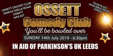 Ossett Comedy Club Charity Comedy Event tickets
