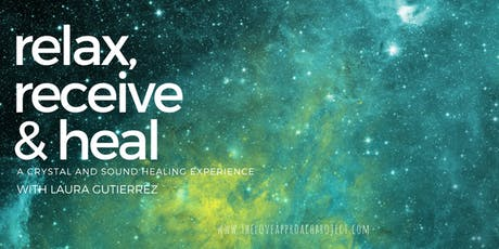 Relax, receive & heal: group crystal and sound healing tickets