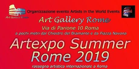 Artexpo Summer Rome 2019 biglietti