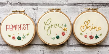Feminist Embroidery Workshop with Wimperis Embroidery - Stroud tickets