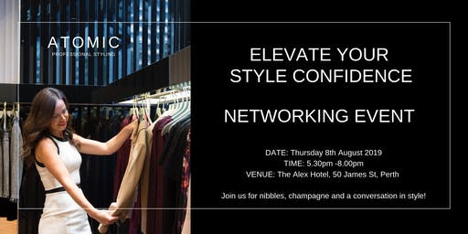 Elevate Your Style Confidence - Networking Evening
