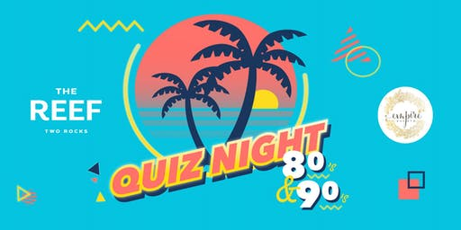 Quiz Night 80's & 90's