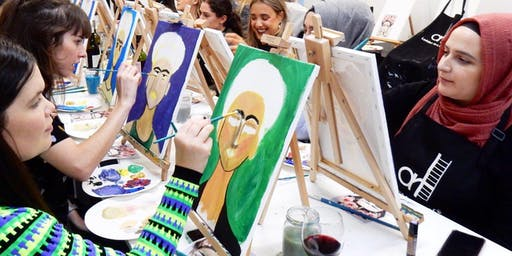 'Frida' Sip & Paint Workshop