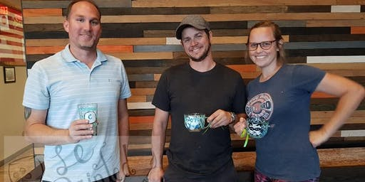 Pint Glass Painting Class @ Harbottle Brewing 6/16